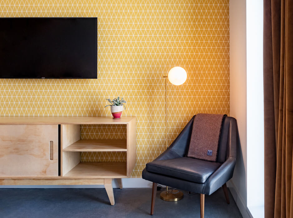 2019 Aug 5 Brittany Bosworth ARRIVE yellow wallpaper