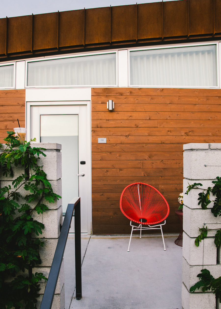 Patio Red Chair